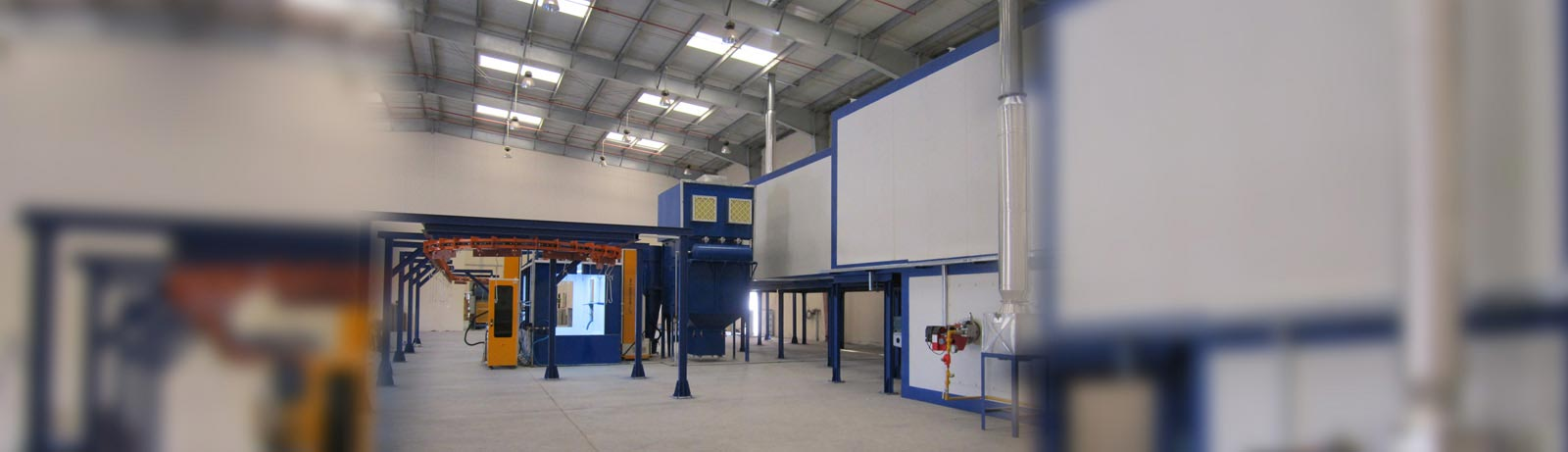 STANDARD POWDER COATING LINES
